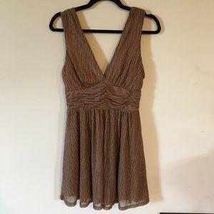 Lulu's gold dress